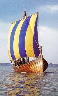 krigsskibe i vikingetiden